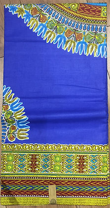 BLUE DASHIKI Plain