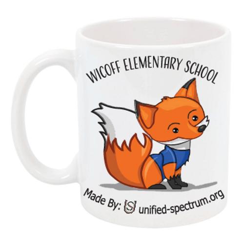 J. V. B. Wicoff Elementary School PTA Mug