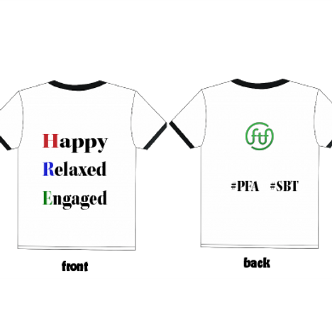 White/Black T-Shirt - FTF