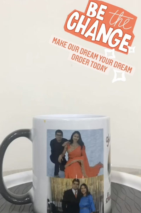 Photo Magic Mug for Special Occasions