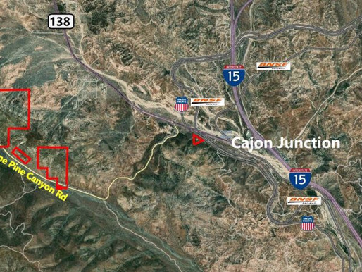 Just Listed: 430 Acre Site with Vested Mining Rights   California