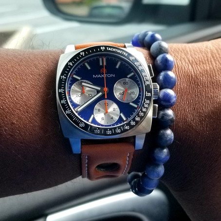 McDowell Time Maxton Chronograph Review