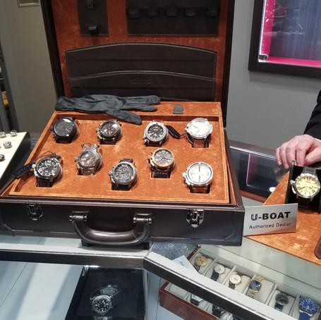 Little Treasury Jewelers, time out - annual watch fair, review / Recap