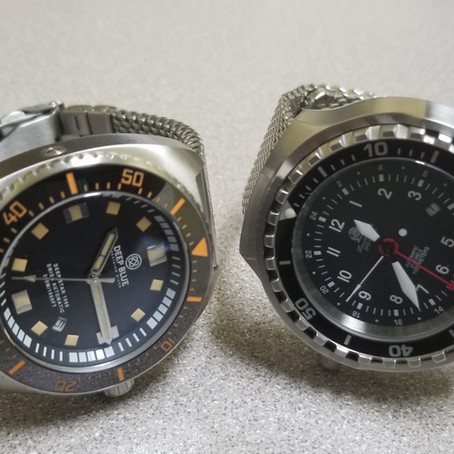 deep blue deep star 1000 vs tauchmeister 1000 meter