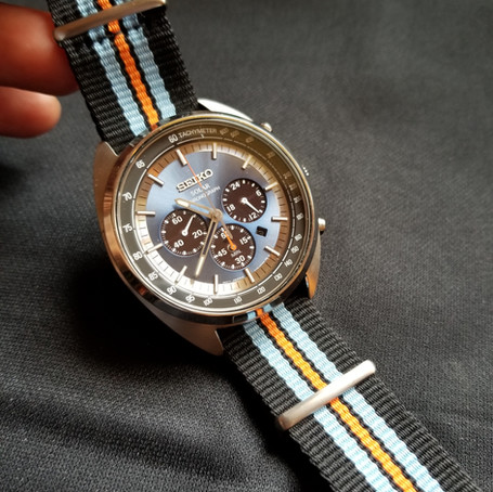 seiko recraft solar chronograph vs mcdowell time maxton chronograph