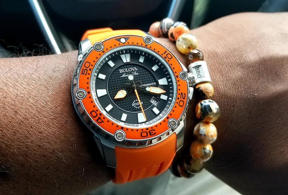 Bulova, Marine Star, Dive Watch, National Watch Day