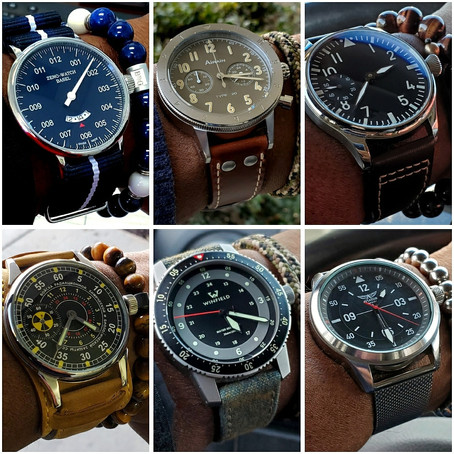 Pilot & Military Watches, The Most Versitile Watch Genre