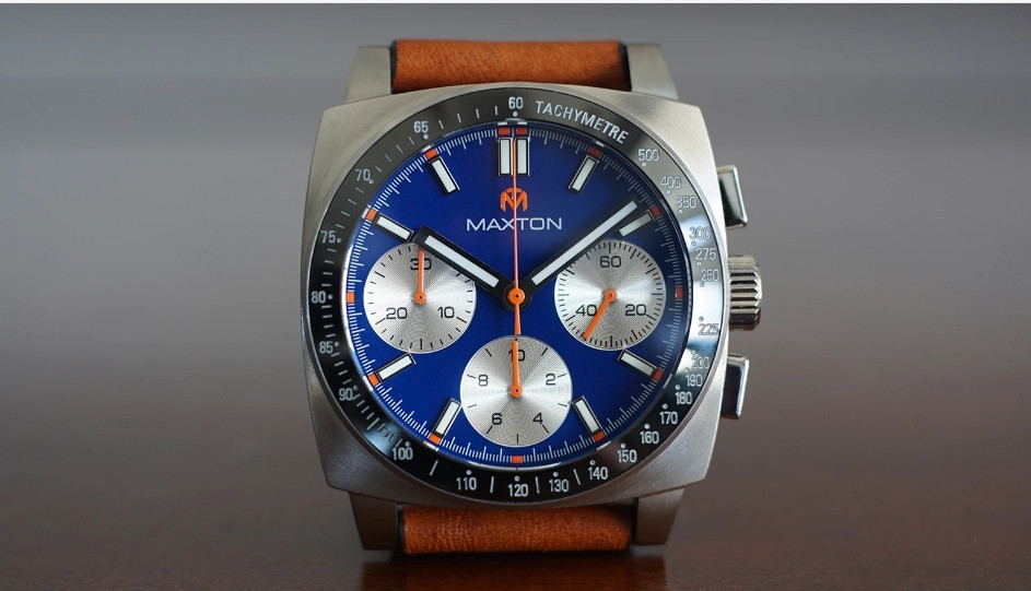 McDowell Time, Maxton Chronograph, District Time watch event Vendor.