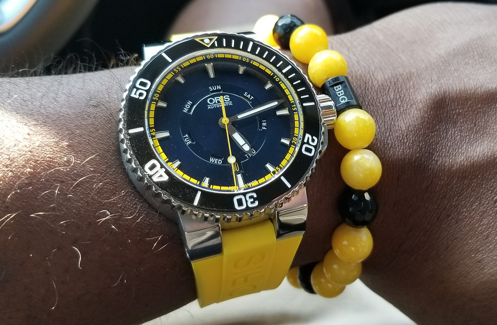 """Oris, Aquis, """"Great Barrie Reef"""", WOTD, """"Watch of the Day"""" """"Watch Blog"""", """"Watch Vlog"""", """"Limited Edition"""""""