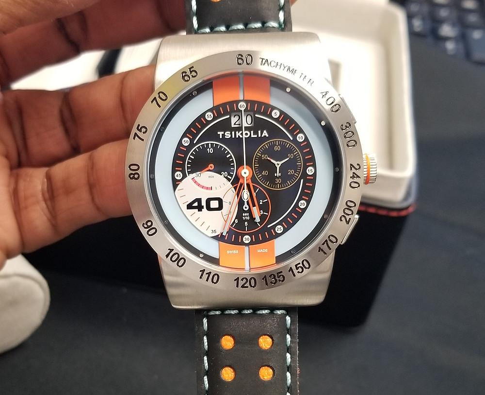 Tsikolia GT40 Racing Chronograph, Limited Edition