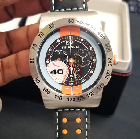 Tsikolia GT40 Racing Chronograph Review