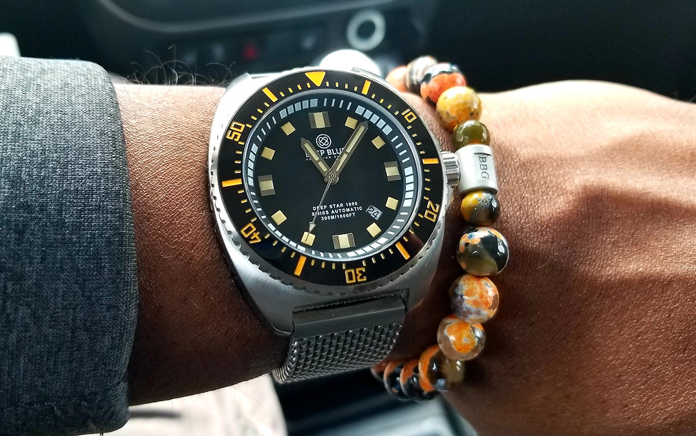 """""""Deep Blue"""" """"Deep Star 1000"""" """"Precision Diver"""" """"Watch Versus Watch"""" """"Watch VS Watch"""""""