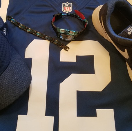 coordinating favorite sports team colors within your timepiece and accessories!