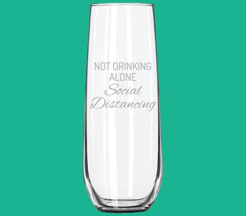 Commemorative Stemless Flute Glass (8.5 oz)