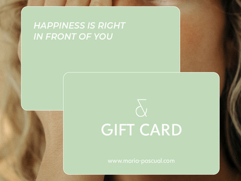 Maria Pascual - Gift Cards
