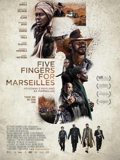 Five Fingers For Marseilles - Red Band Trailer