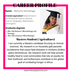 Agricultural science Masters