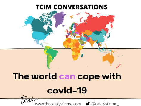 The World Can Handle Covid-19