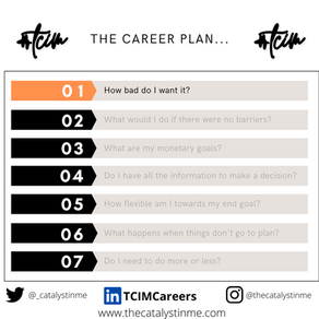 How bad do you want it? - The Career Plan 1/7