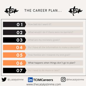 Information, Goals, Decisions l TCIM  Career plan