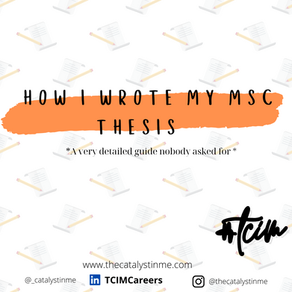 How to write a Dissertation or Thesis