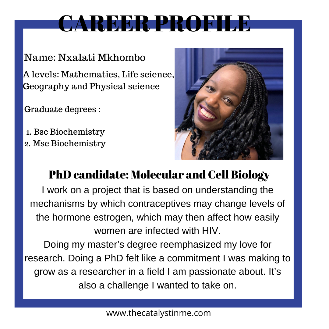 Nxalati Phd researcher