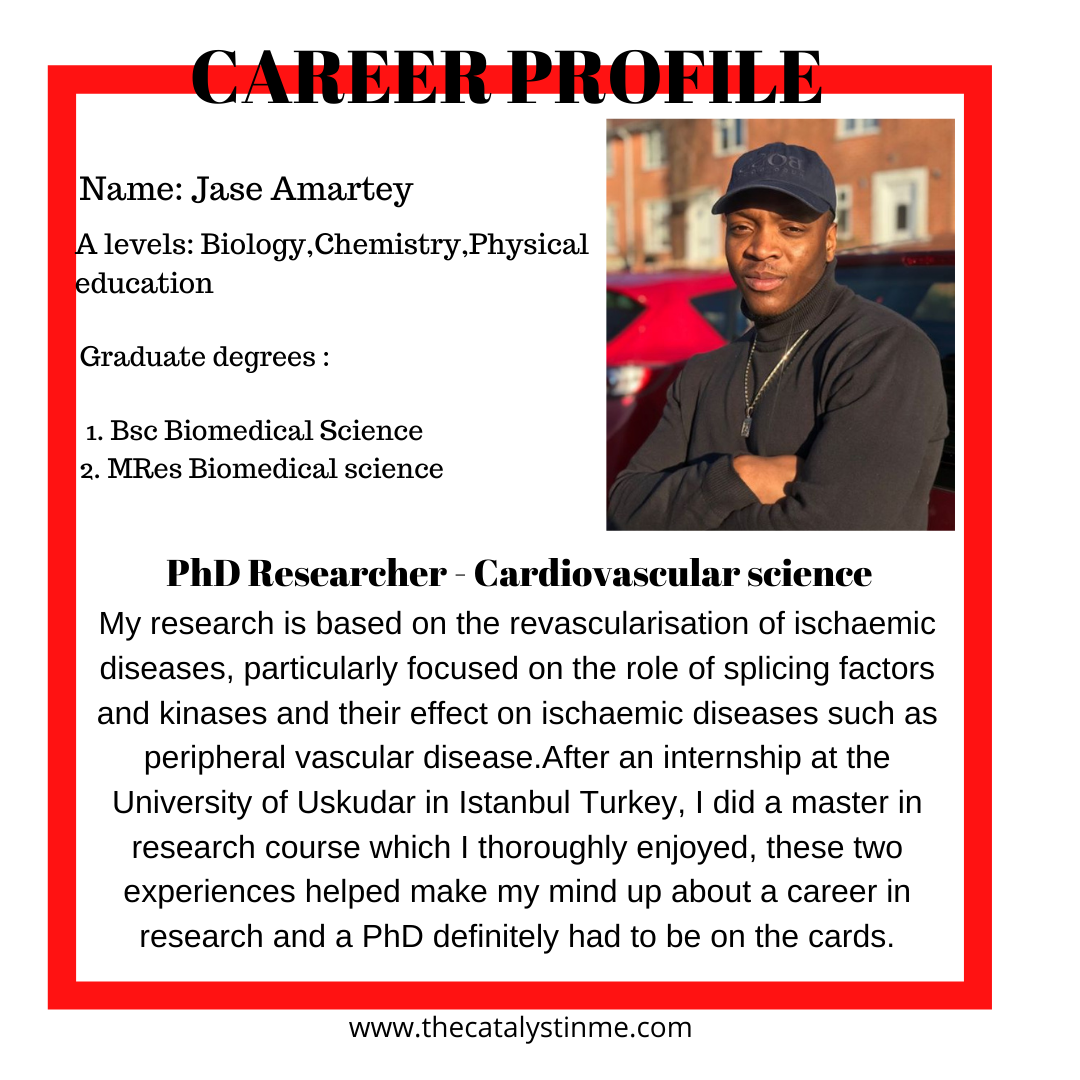 Jase Phd researcher