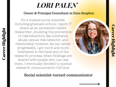 BA Psychology  - Social scientist to science communicator