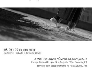 ABISSAL na X Mostra Lugar Nômade de Dança 2017