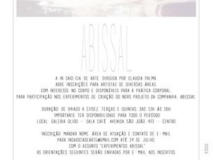 Convocatória - Projeto Abissal