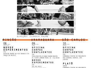 2.Confluências em Rincão, Araraquara e São Carlos