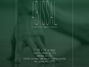 2o ateliê de compartilhamento ABISSAL