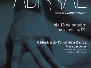 ABISSAL na X Mostra do Fomento à Dança