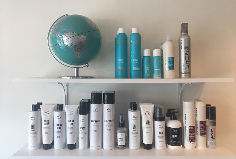 AG Hair Products and Moroccan Oil Braintree