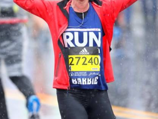 Congratulations to Stylist Barbie Campbell on Her Fourth Boston Marathon!