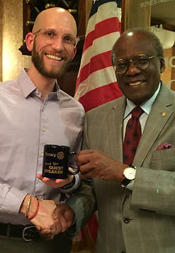Rotary - Michael Kunkel Peace Corps May