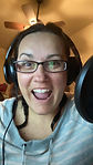 Celina excited to record.jpg
