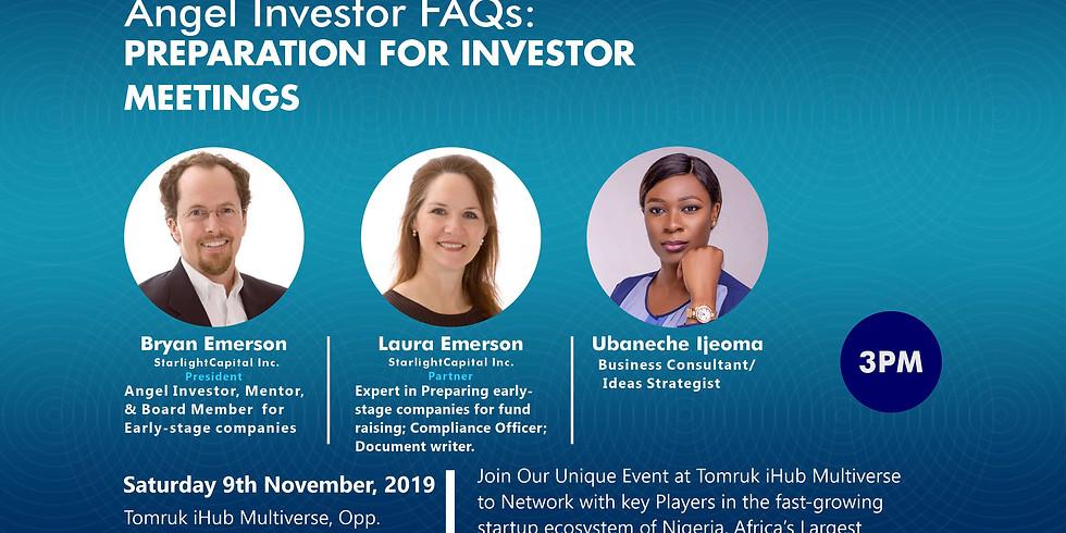 Worldwide Webinar:  Entrepreneur Preparation for Investor Meetings