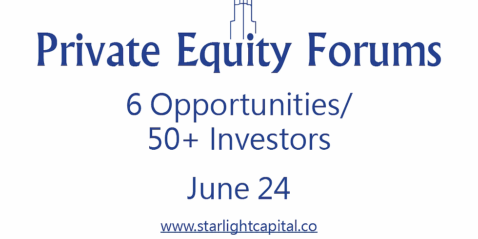 Private Equity Forums - Real Estate