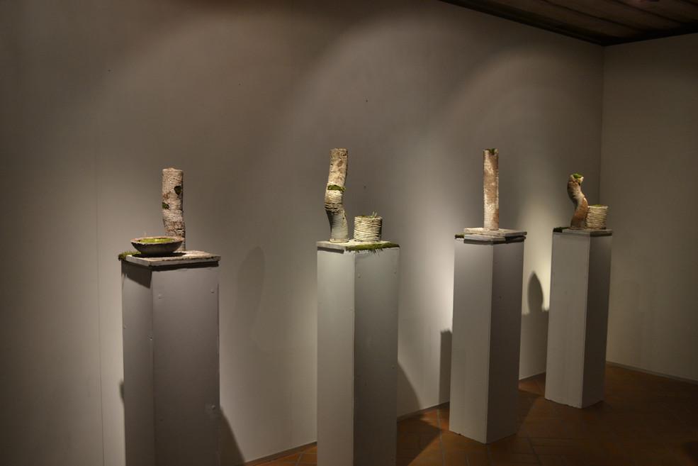 Concrete sculpture set