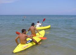 Noleggio canoe singole o doppie
