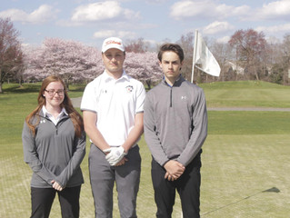 Trio Guiding Middle Township on the Links