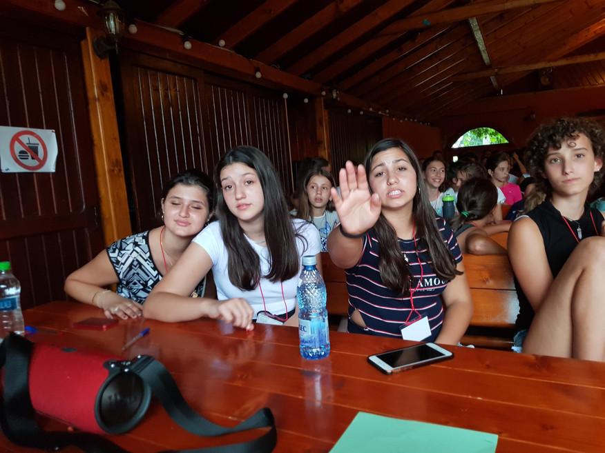מחנה נוער ברומניה