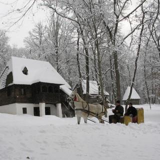 בקתה בכפר רומני