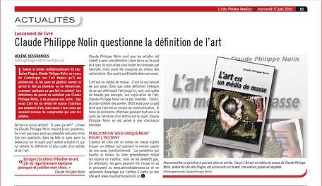 Hélène Desgranges, La Petite Nation 2020-06-17