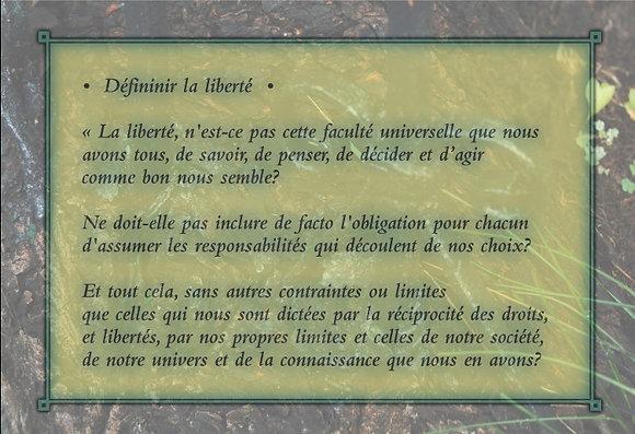 Qu'est-ce que la liberté?