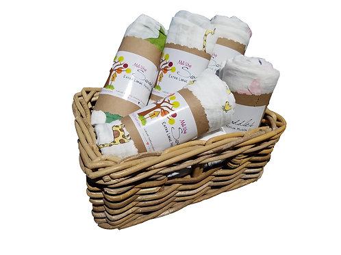 Mali Wrap Muslin Swaddles Single Packs