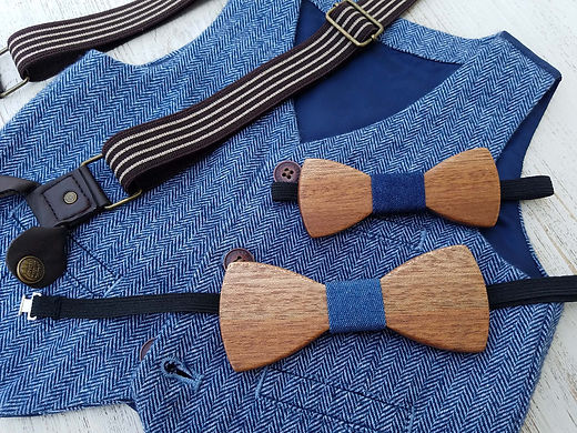 father and son bow ties, wooden bow ties, rustic theme bow tie set. barn wedding attire, rustic accessories