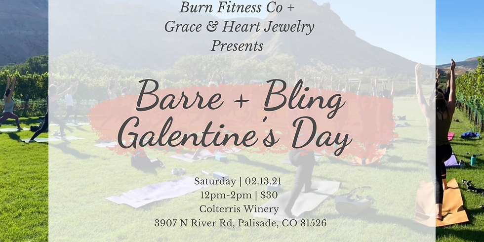 Barre + Bling Galentine's Day at Colterris Winery