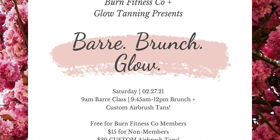 Barre, Brunch, Glow!